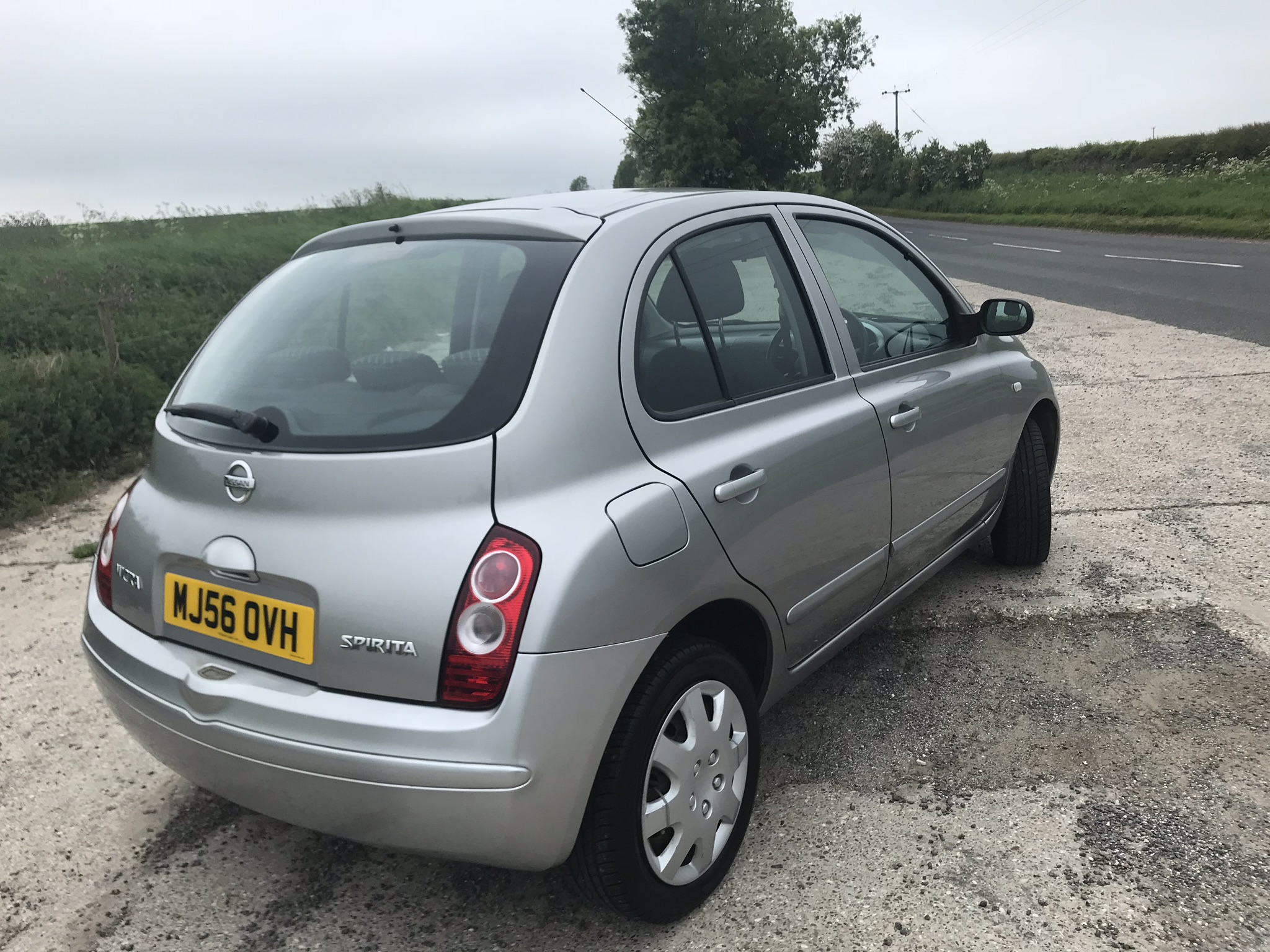 Nissan Micra Spirta 5 Door In Silver Sold full
