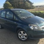 Vauxhall Zafira 16 Club 5 Door 7. Seats Sold full